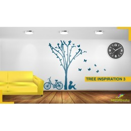 Tree Ispiration 3 - Adesivi murali - stickers