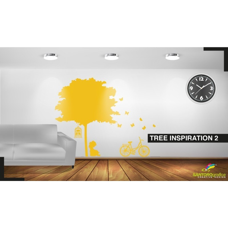 Tree Ispiration - Adesivi murali - stickers