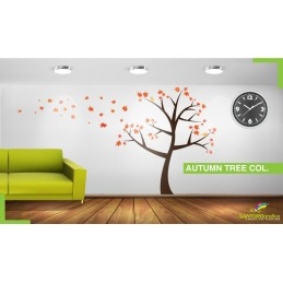 Autumn Tree Col - Adesivi murali - stickers