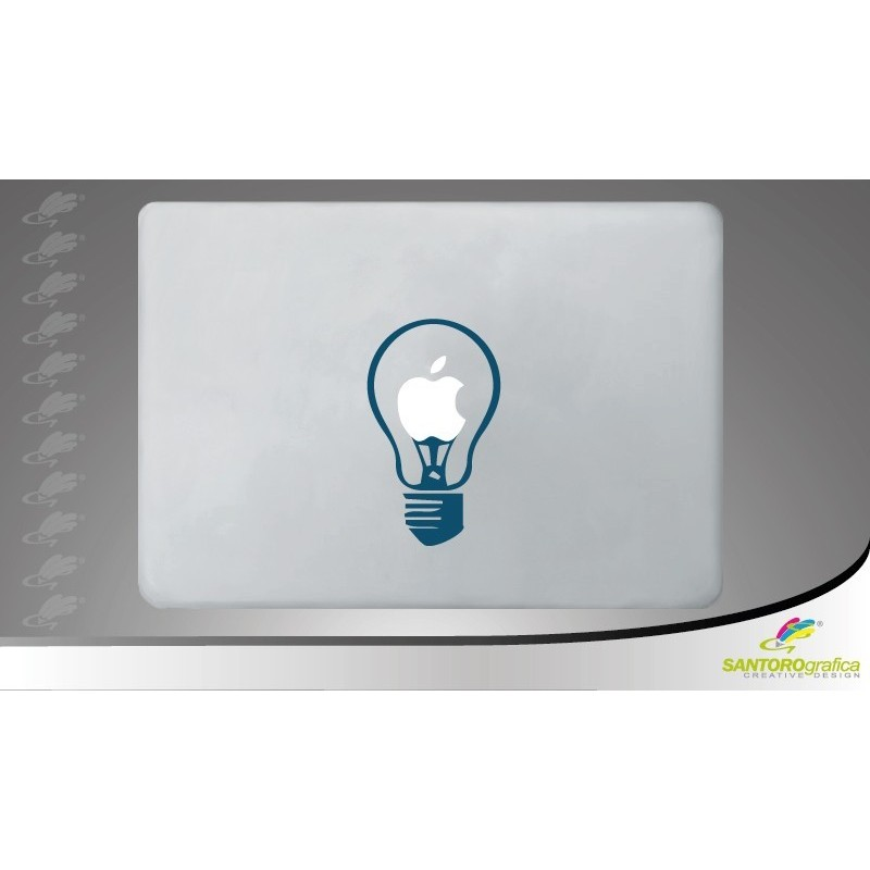 light - adesivo per macbook