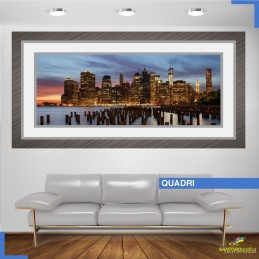 quadro - SKYLINE NEW YORK - Adesivi murali