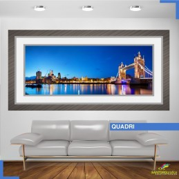 quadro - TOWER BRIDGE UK - adesivi murali