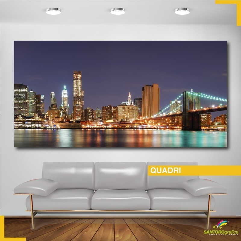 Quadro - Skyline di Manhattan