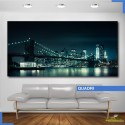Quadro - Skyline di New York di notte