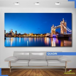 Quadro - Tower bridge di...