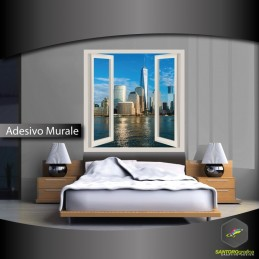 DOWNTOWN DI MIAMI - adesivi murali