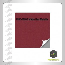 Pellicola 3M matte red metallic