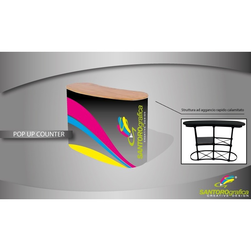 Pop Up Counter - Banco Promozionale