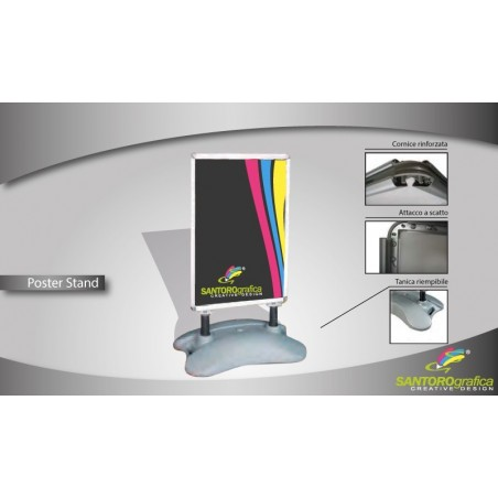 Poster Stand Outdoor -...