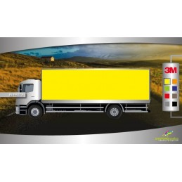 Gloss Bright Yellow - pellicola per wrapping camion