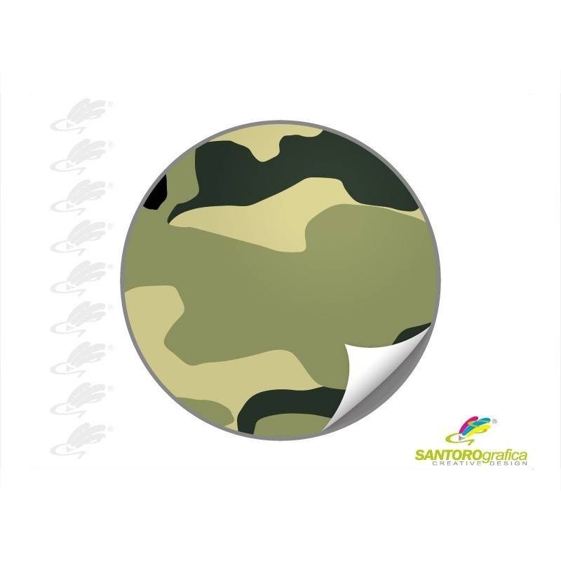 CAMO SG 3 GREEN - Pellicole wrapping camouflage