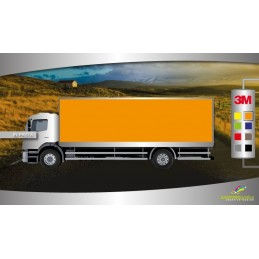 Matte Orange - Pellicola per wrapping camion