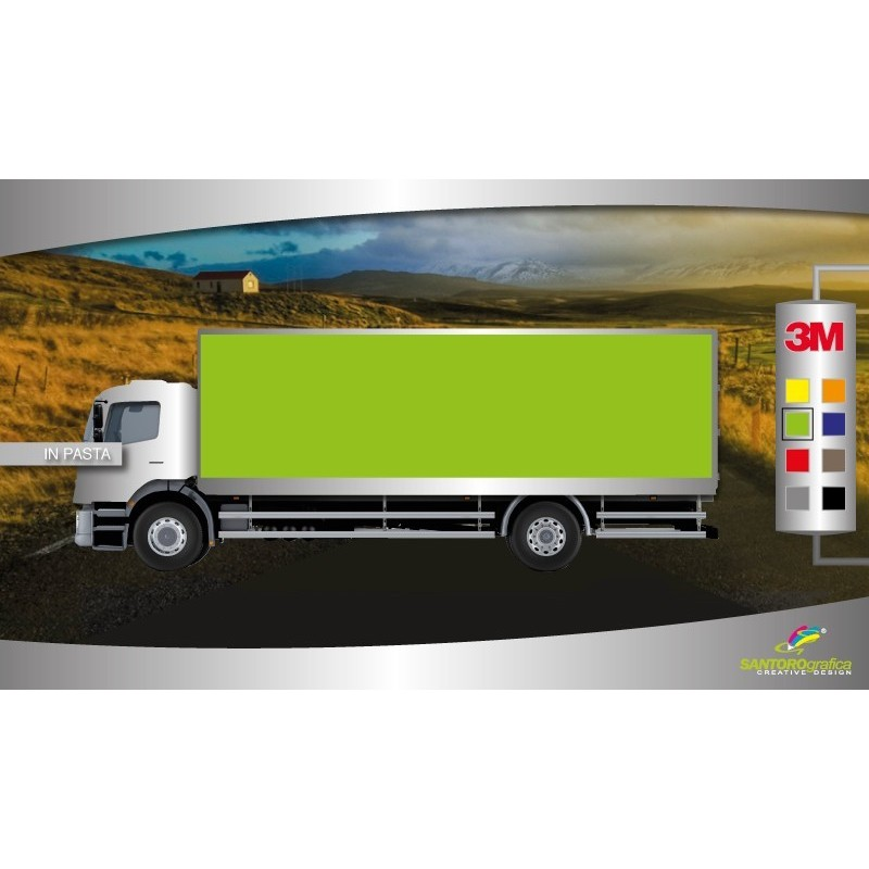 Gloss Kelly Green - Pellicola per wrapping camion