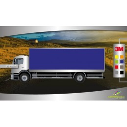 Gloss Intense Blue - pellicola per wrapping camion