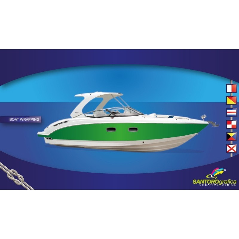 Gloss Kelly Green - Pellicola per boat wrapping
