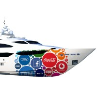 stampa digitale - boat wrapping